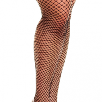 Glamory Mesh Fishnet Thigh High