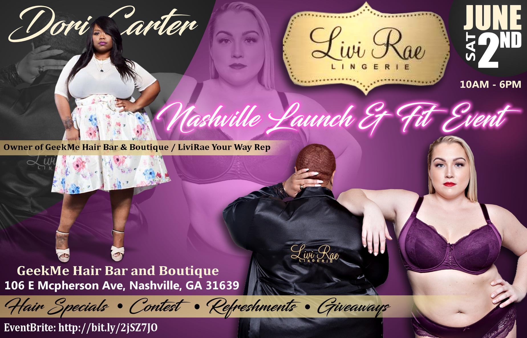 b2325e4474 LiviRae Your Way Nashville Launch Party   Fit Event